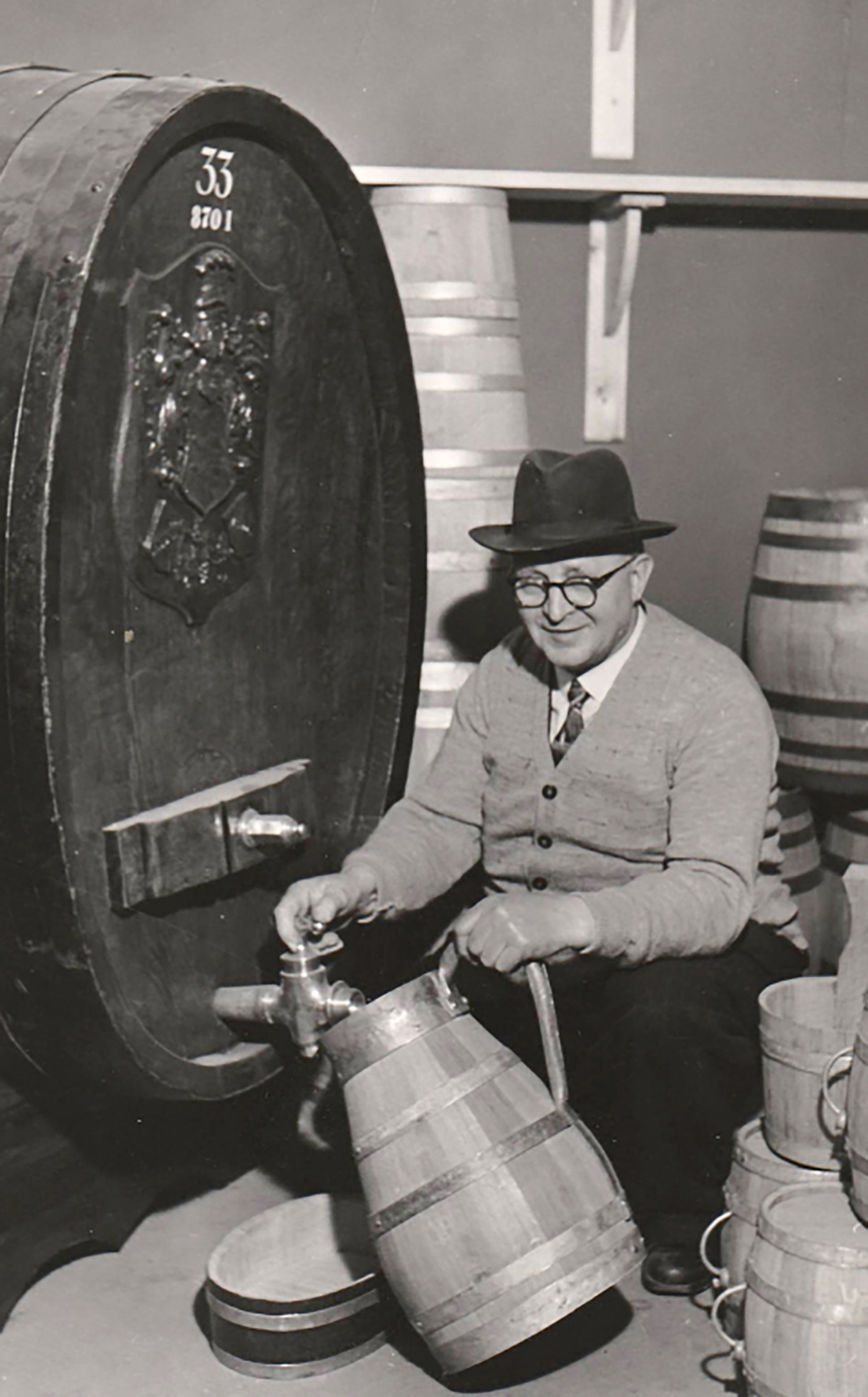Great Grandfather - Master Cooper Mr. Jens Marinus Jensen 1887-1956