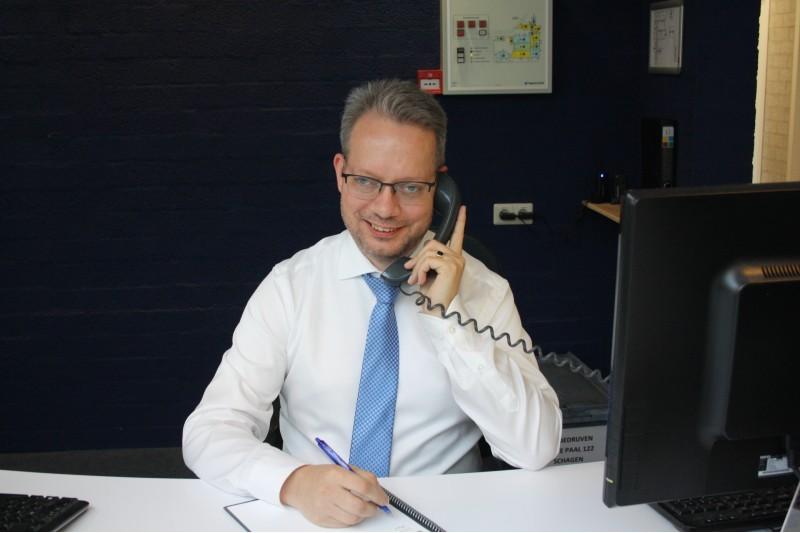 Receptionist bij Probedrijven, stel je voor! Ard Veenstra