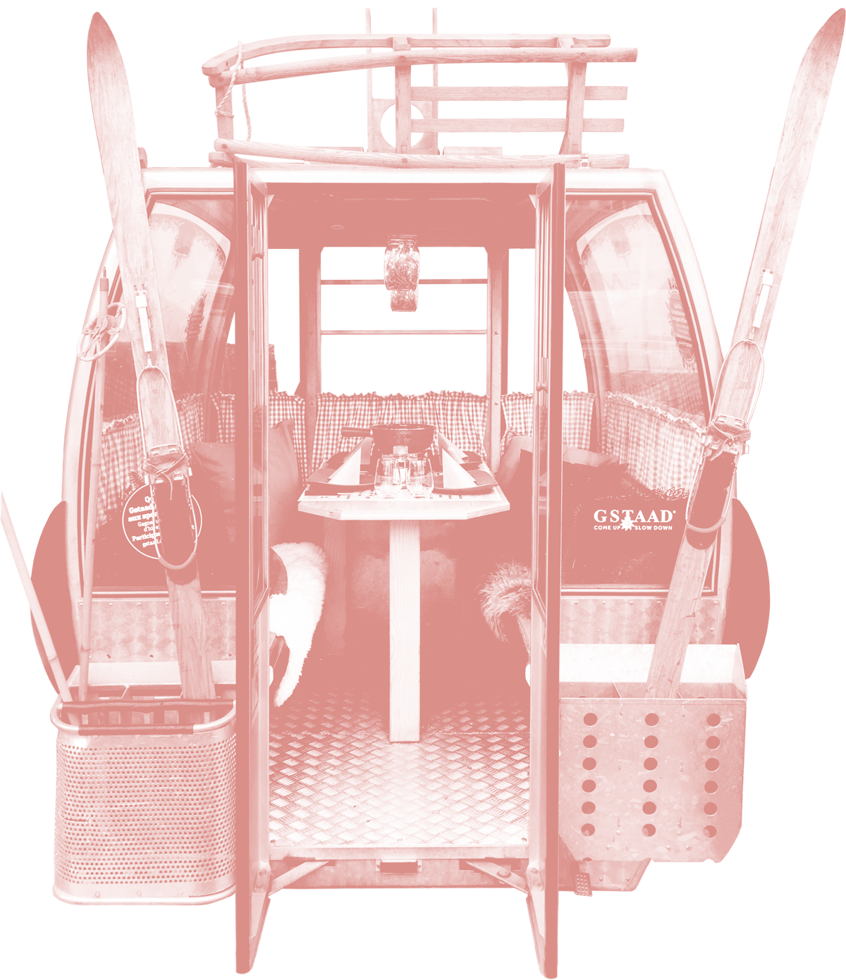 Fondue-Gondel Hauptbild