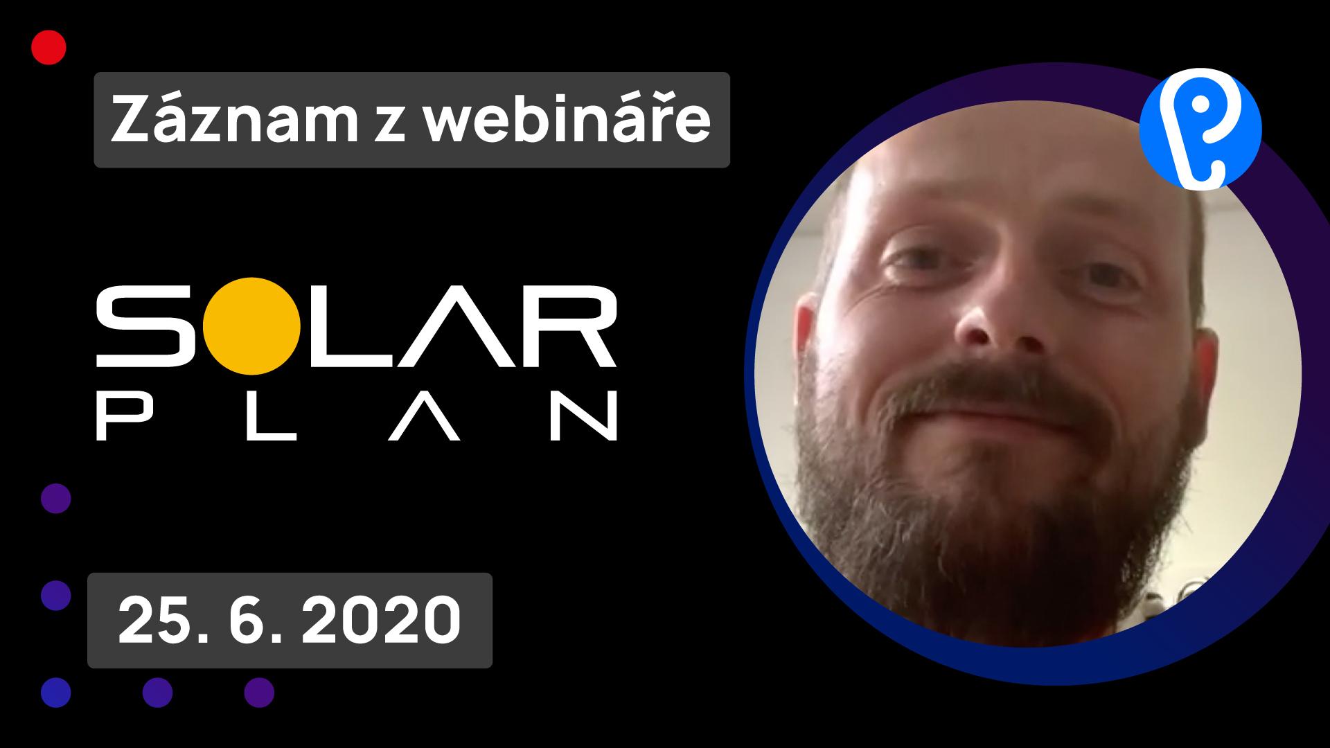 Záznam webináře se SOLARplan