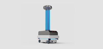 UVC Virus-Killing Robot and Other Disinfection Solutions Tackles COVID in Public Spaces
