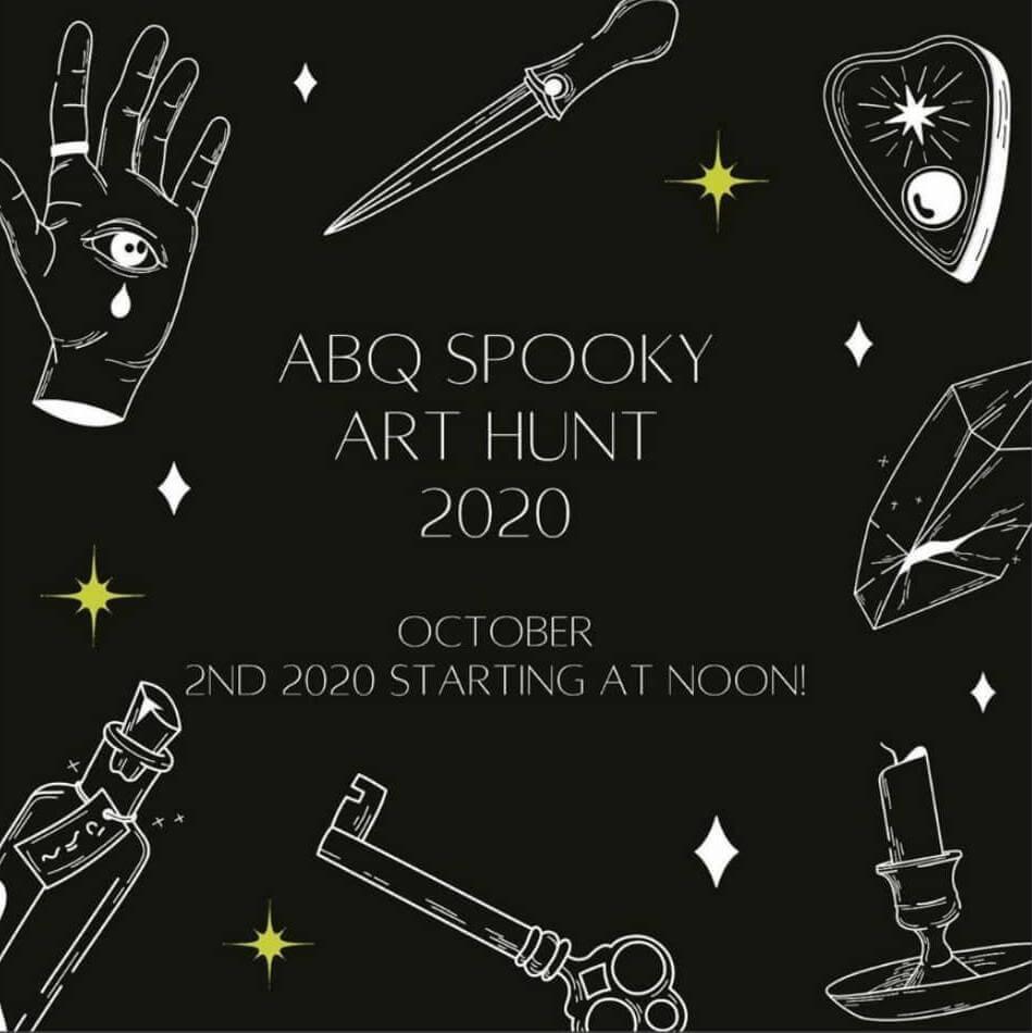 ABQ Spooky Art Hunt