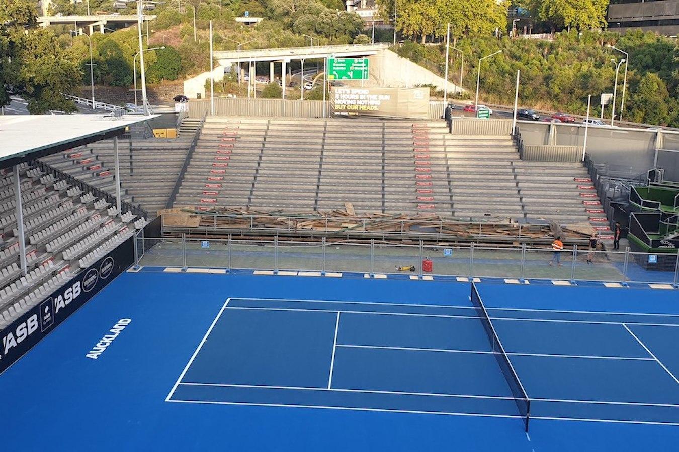 ASB Tennis Arena - Yock Stand