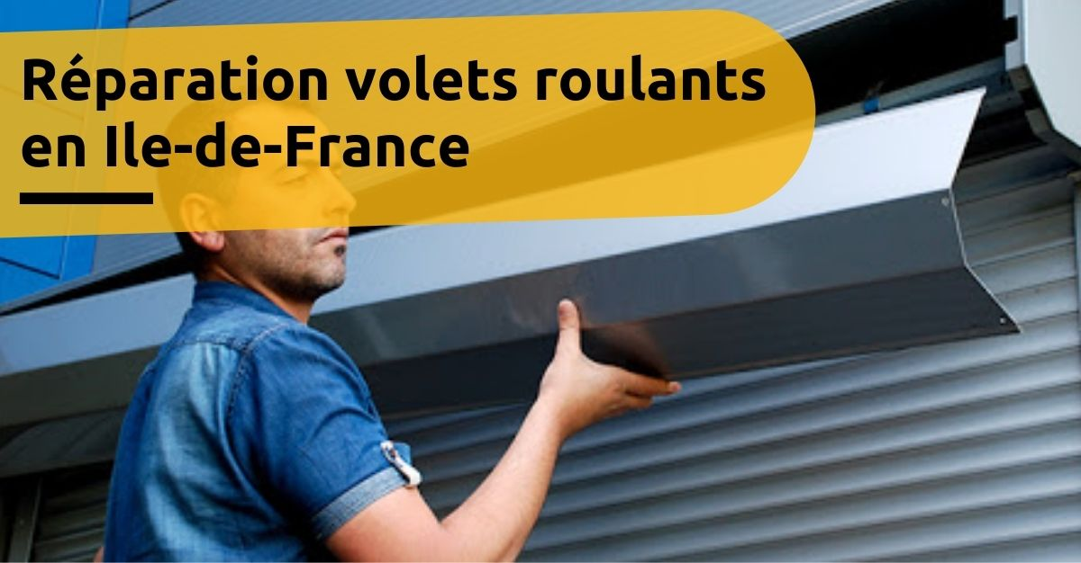 Reparateur volet roulant Bonneuil-En-France