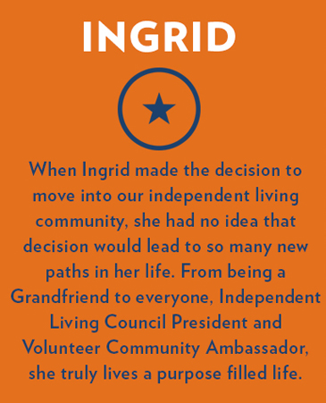Ingrid's Photo, The Gardens Independent Living, Springfield