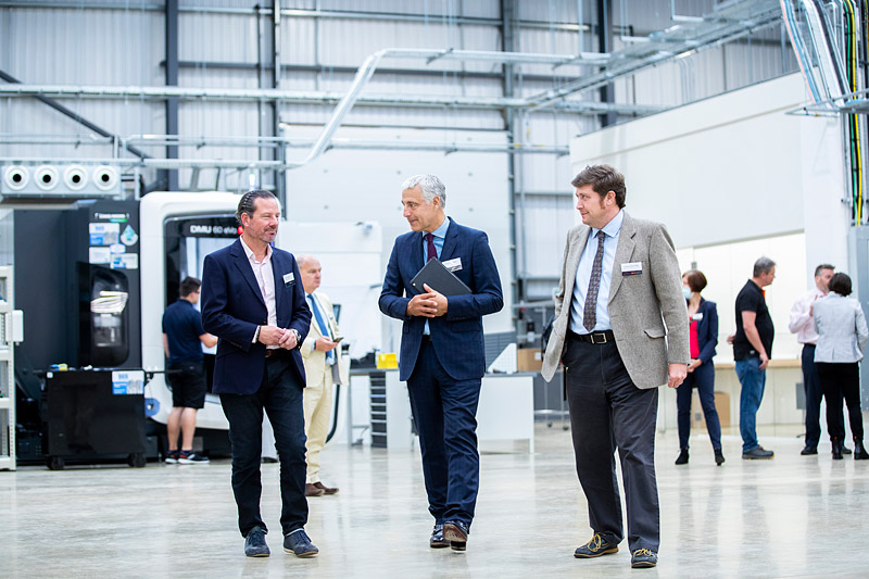 •Trio of MPs help to launch revolutionary new Digital Manufacturing Centre