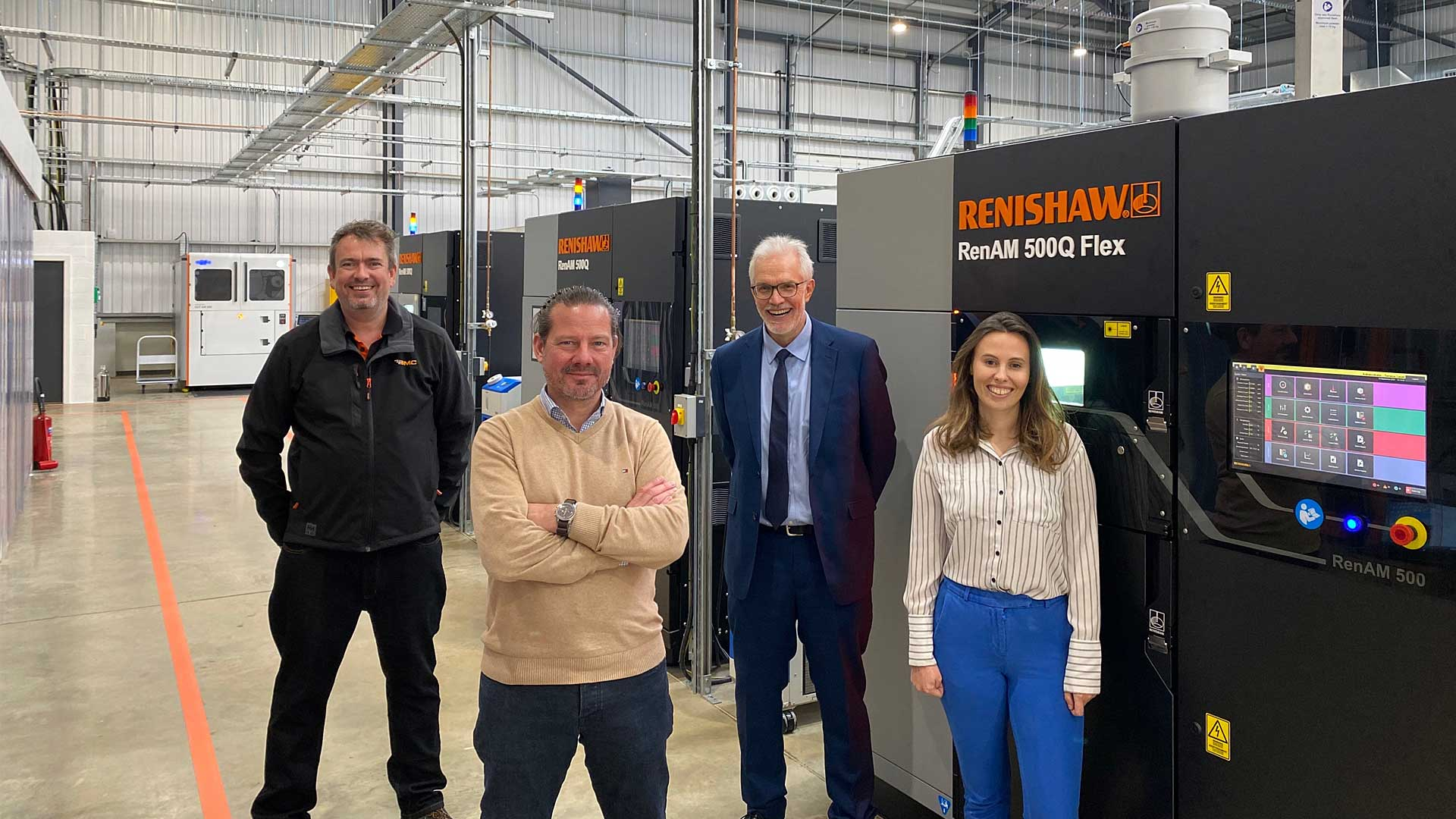 DMC first to test new 'flexible' Renishaw AM machine
