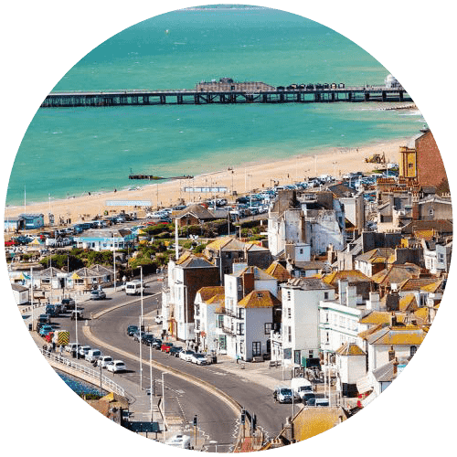 hastings pier and seafront