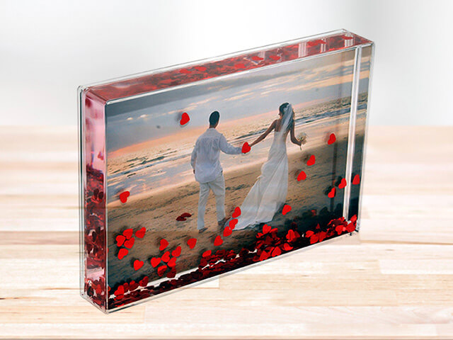 Acrylic Shaker Blox Photo