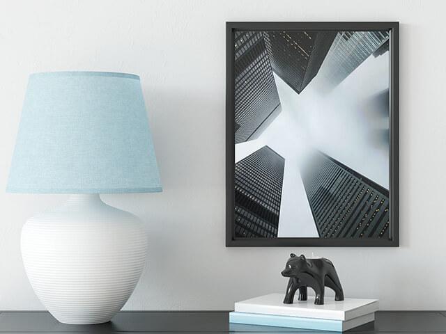 Glass Mount Photo
