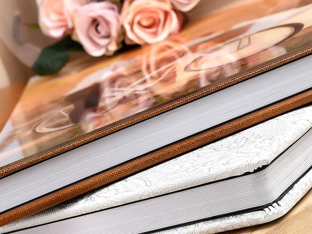 Alternate Wedding Photobook Closeup