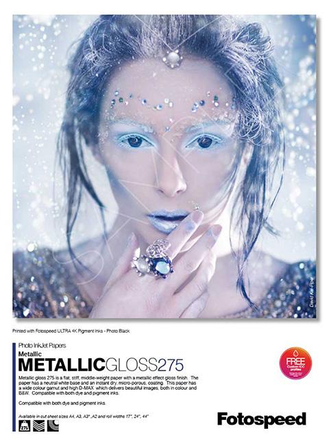 Metallic Glossy 275gsm