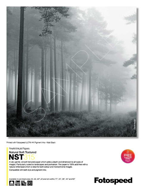 Natural Soft Texured 315gsm
