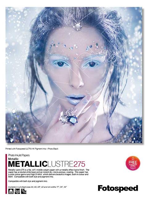 Metallic Lustre 275gsm