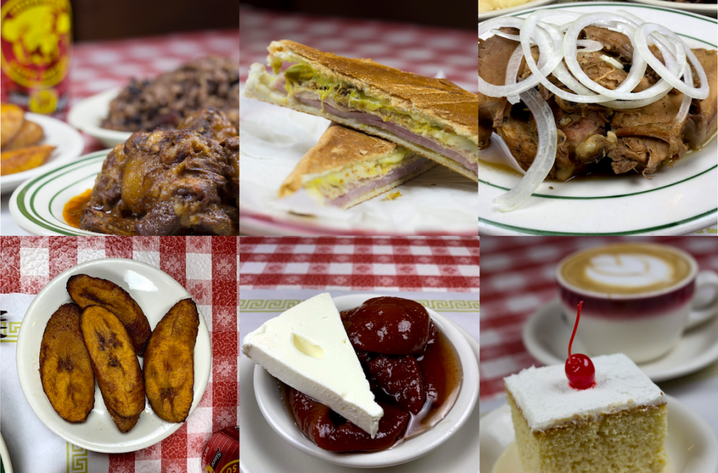 Photos of various menu items from Rincon Criollo - Cuban restaurant in Huntington and Queens