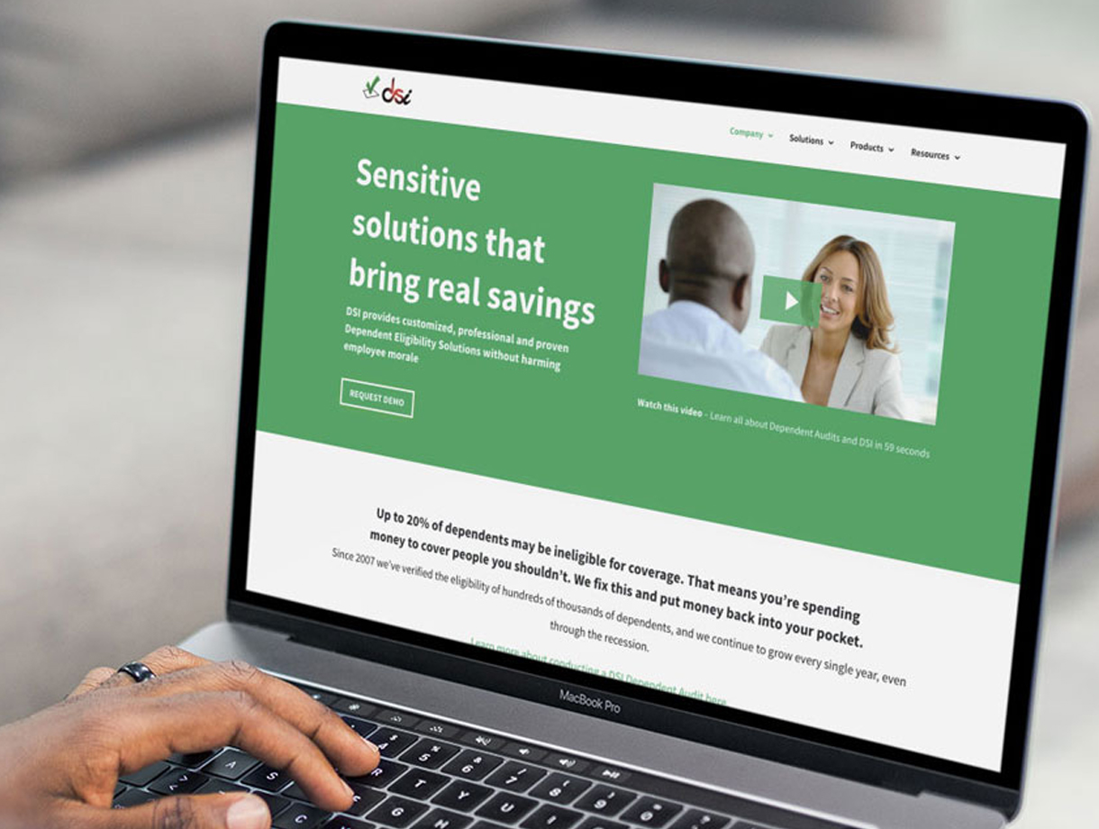 DSI Website Redesign (2019)