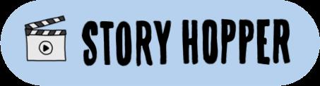 Story hopper logotype