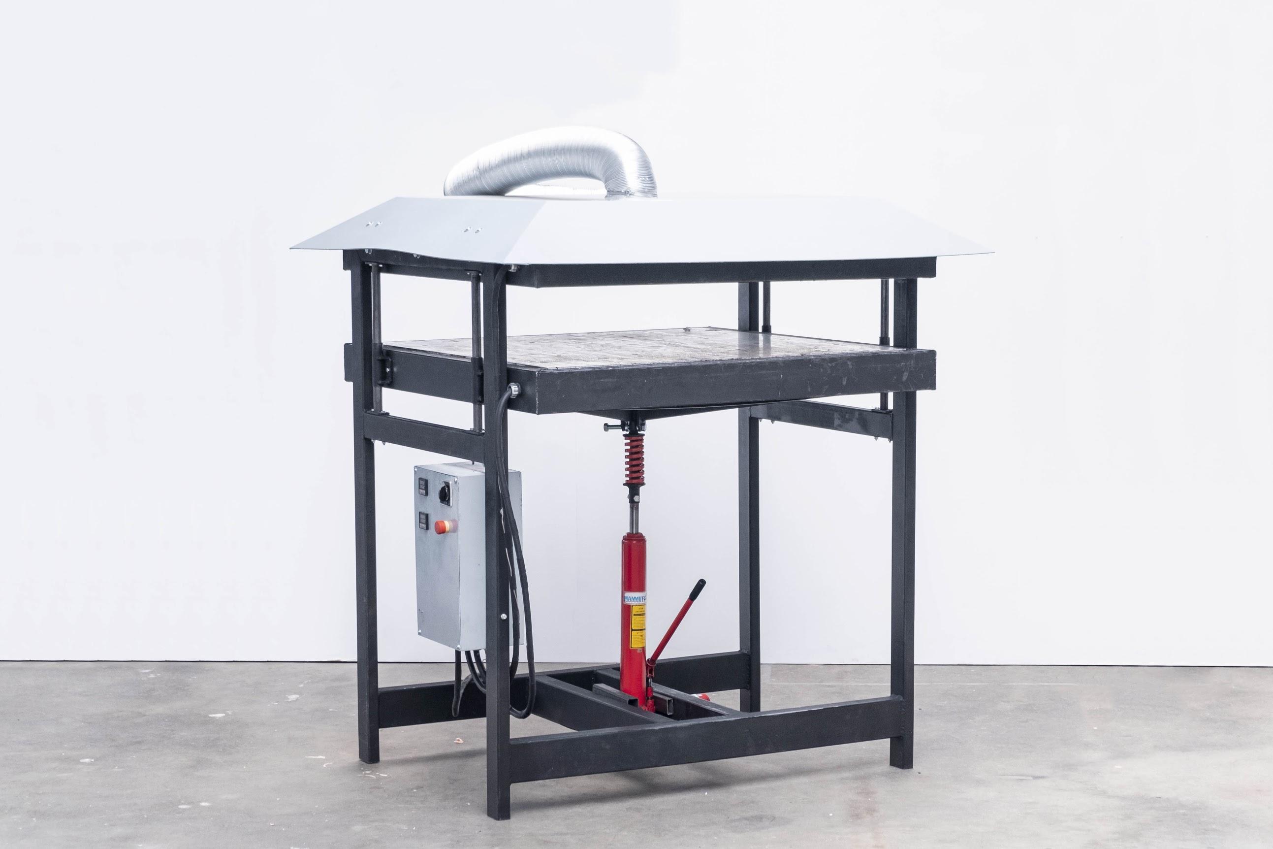 Precious Plastic sheetpress machine