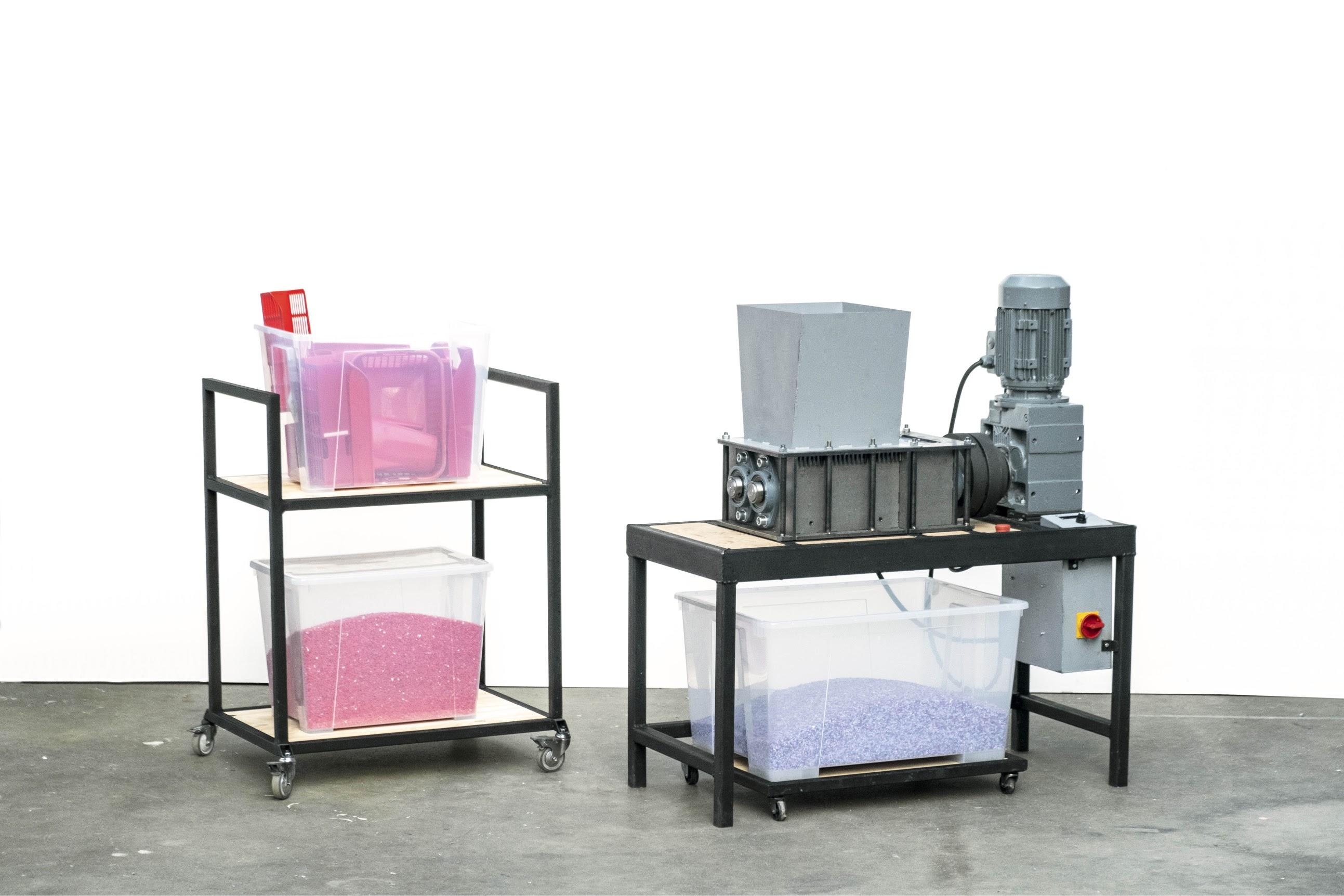 Precious Plastic shredder machine pro