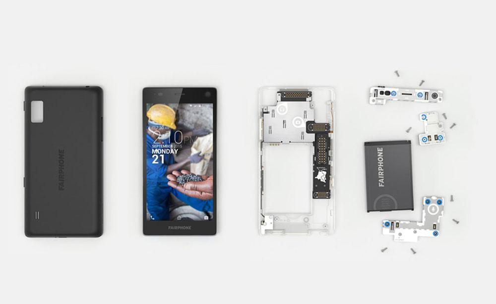 modular phone dissembled