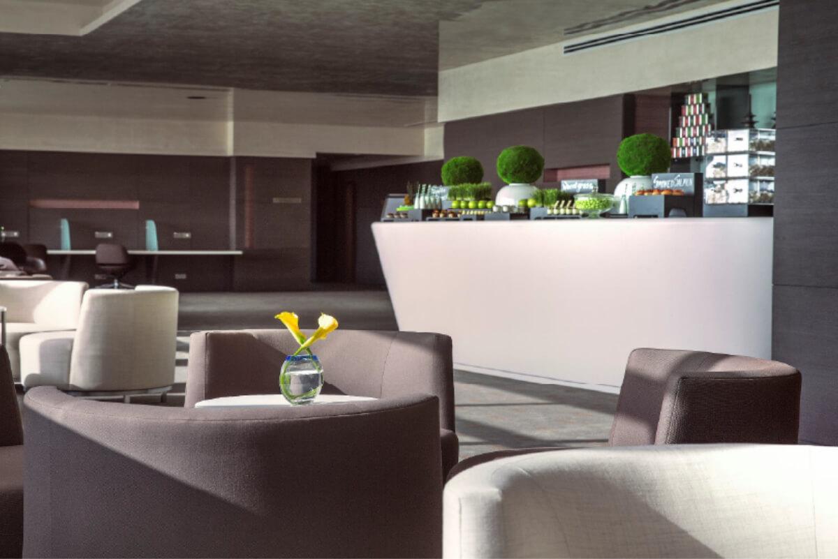 Art Mezzanine Business Lounge