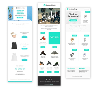 3Dsellers eBay Email Marketing templates and themes.