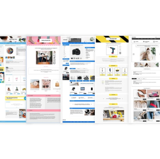 3Dsellers eBay listing designer templates and themes.