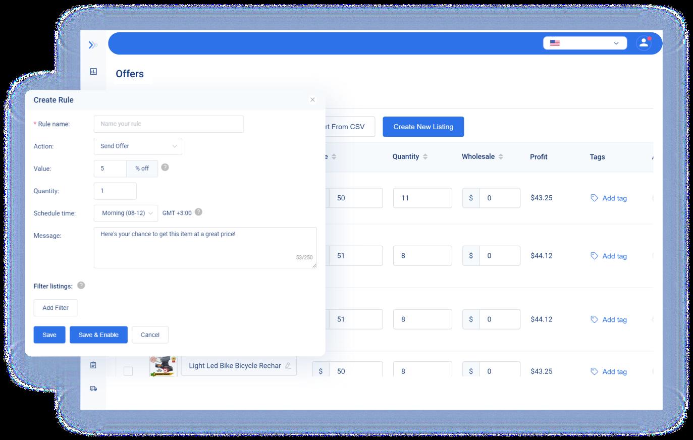 Automatice las ofertas de eBay y convierta a los observadores en compradores