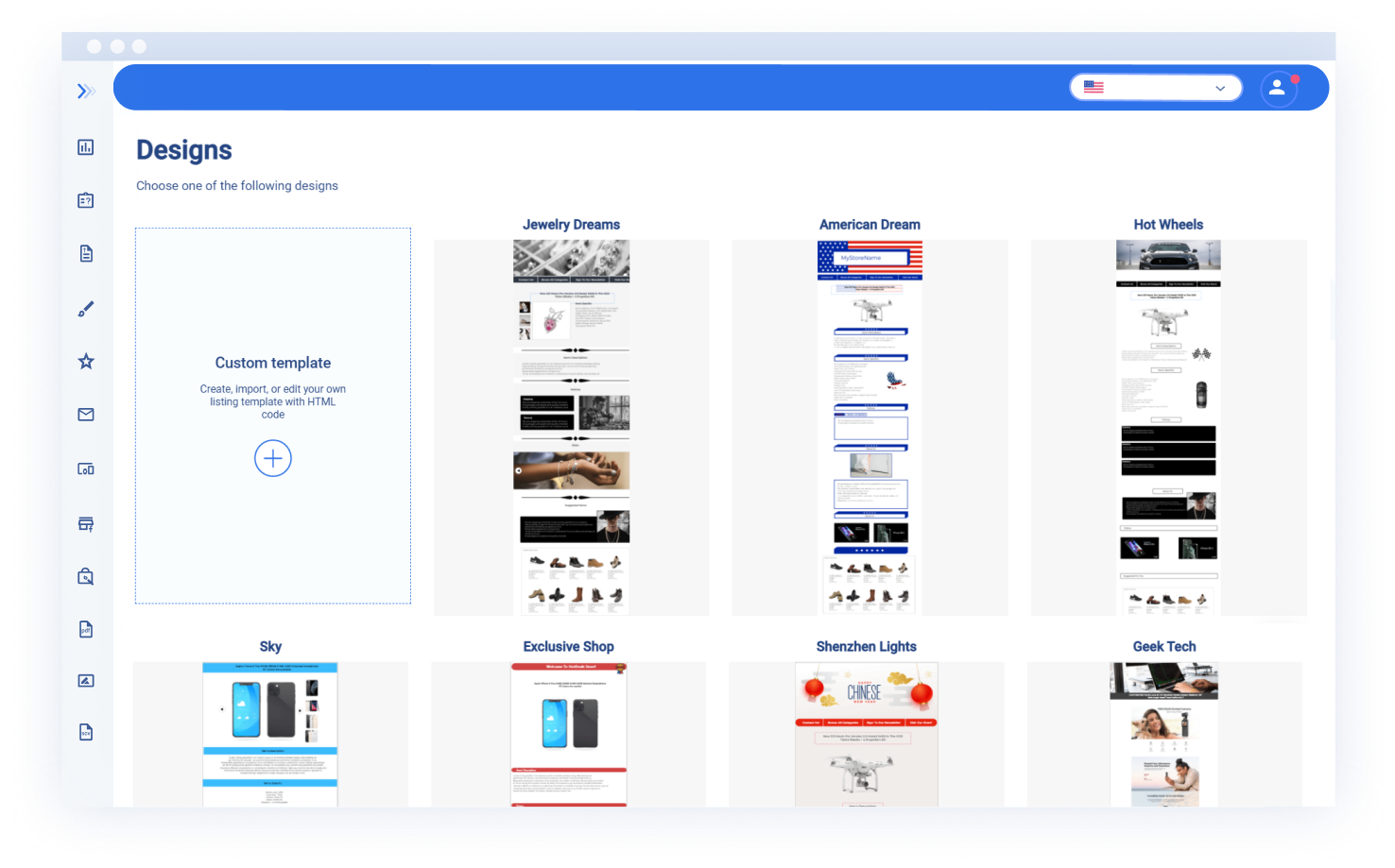 Use Professional Listing Templates and Cutomize it for Your Needs