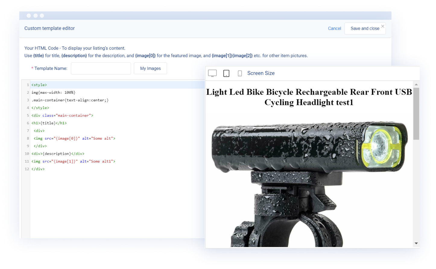 Create eBay Templates from Scratch With eBay HTML Editor