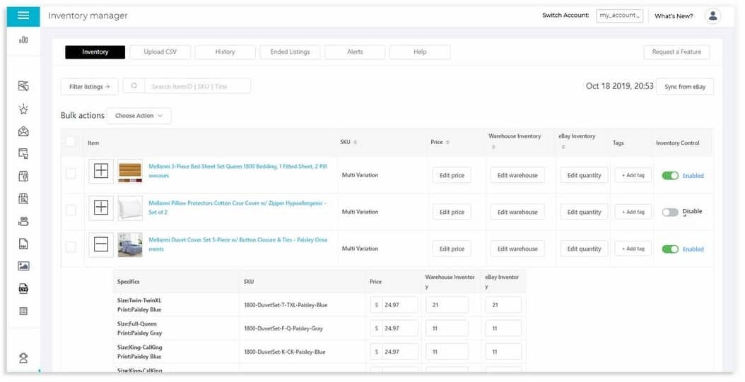 3dsellers ebay inventory management