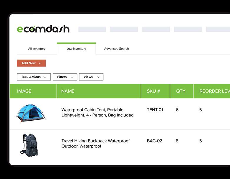 ecomdash ebay inventory