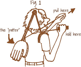 pat self on back invention diagram