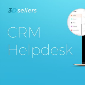 3Dsellers Launches CRM Helpdesk to Improve eCommerce Sellers' Business Performance