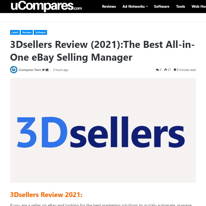 uComares.com - Full review of 3Dsellers (2021)