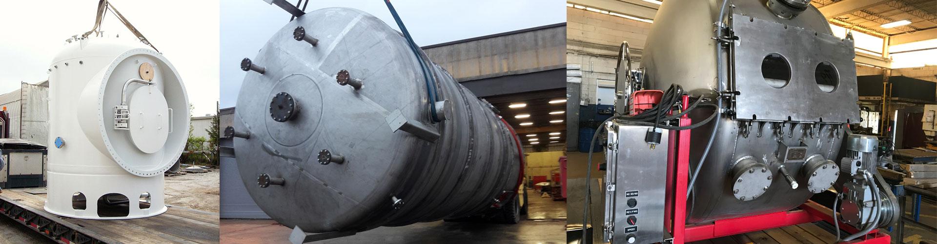 Custom Pressure Vessels – Design & Fabrication