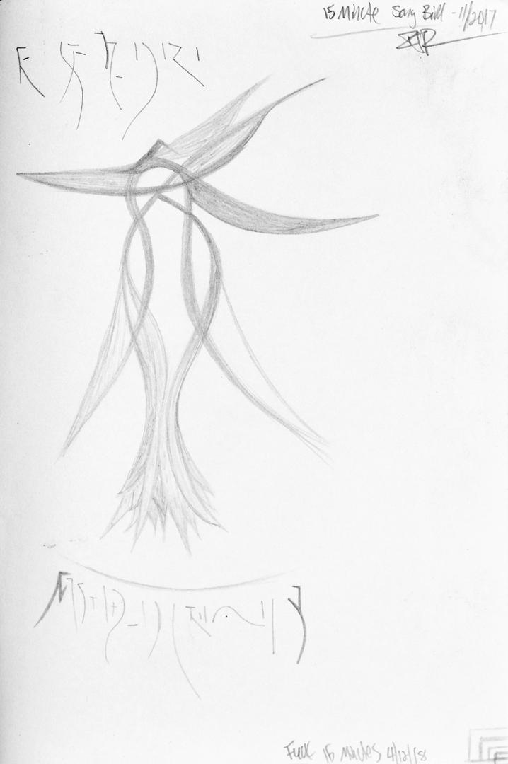 Sketch by Ian James Roche