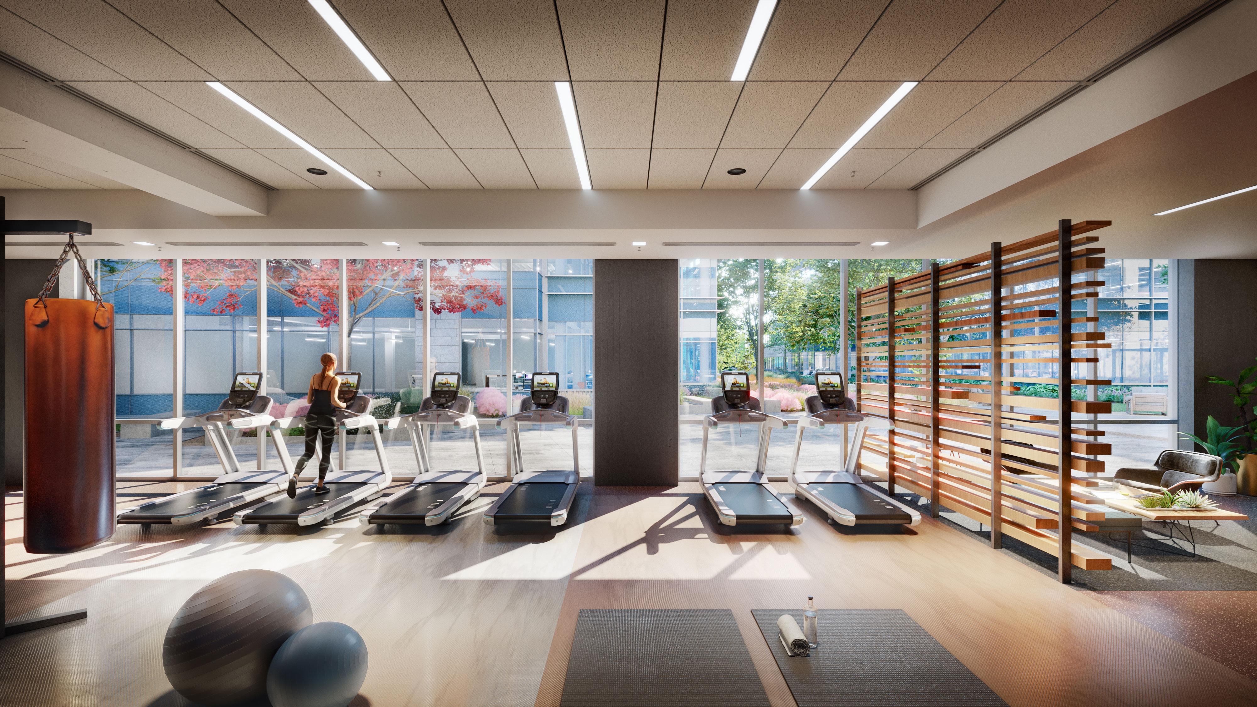 mathilda amenities gym view