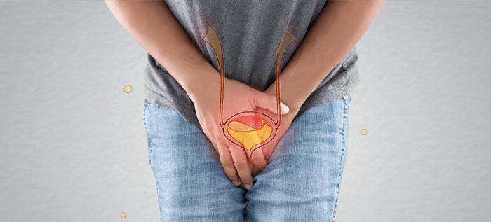 Urgent urination is a symptom of BPH
