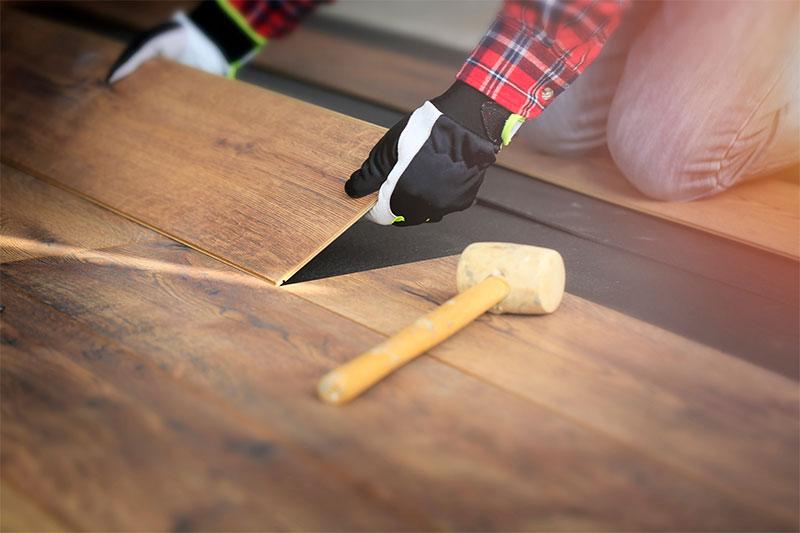Hardwood flooring installation in Fairfax, VA
