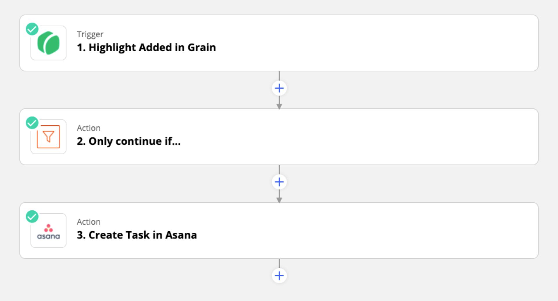 Grain to Asana