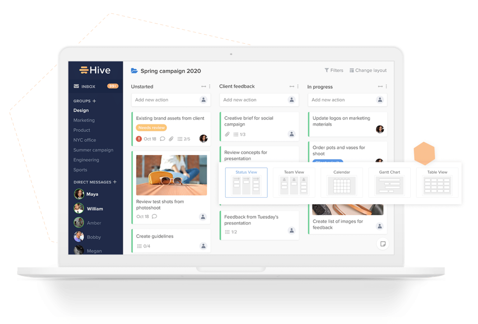 Hive Project management tool