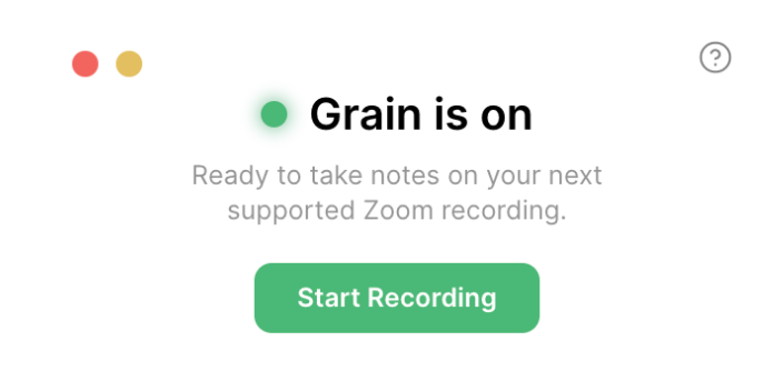 Grain Desktop App