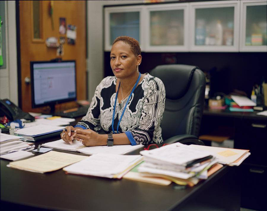 Monique Drewry, Principal of Forest Park Middle School