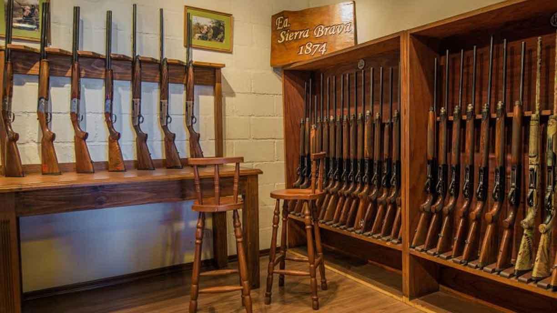 Famous gun collection at Sierra Brava