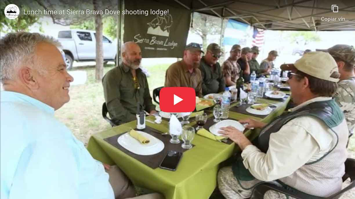 Dove Hunting in Argentina - Sierra Brava Lodge