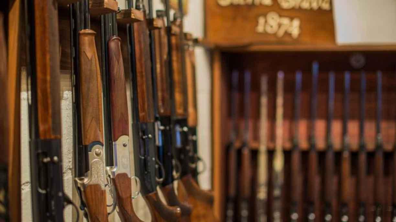 Guns room