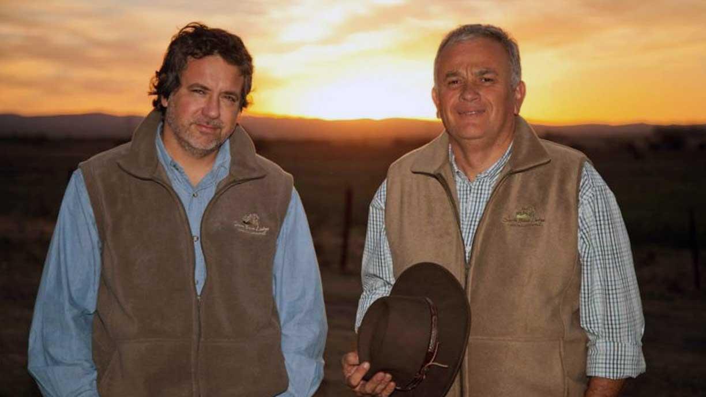 Sierra Brava´s owners JJ and Topo