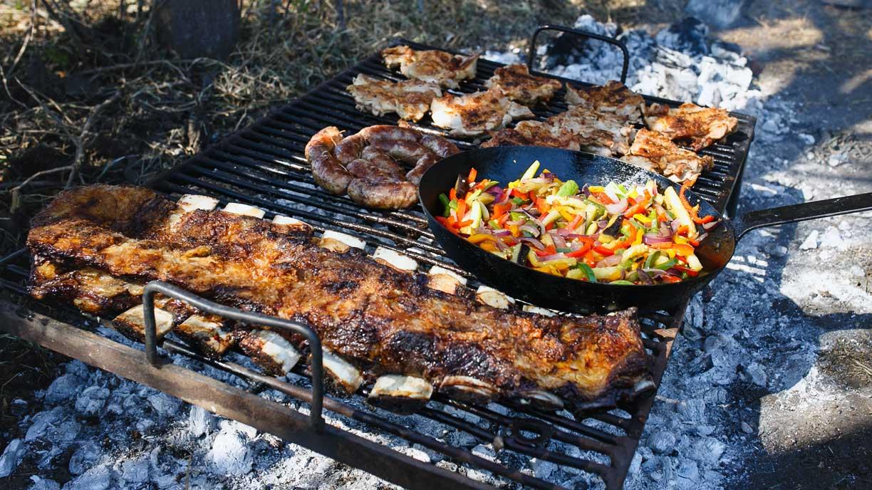 Best meals in the field Sierra Brava Lodge