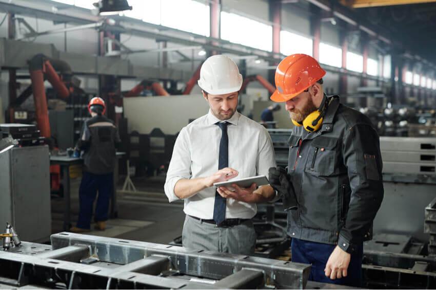 Men manufacturers engineer tablet